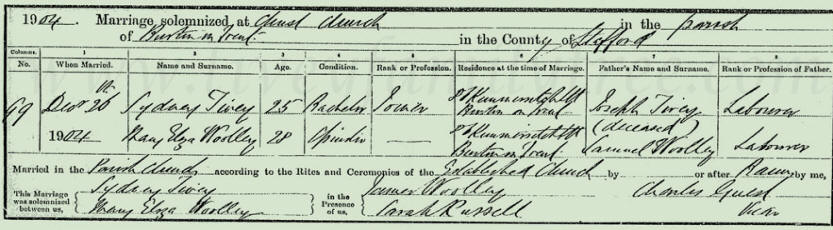 Sydney-Tivey-and-Mary-Eliza-Woolley-Marriage-Certificate