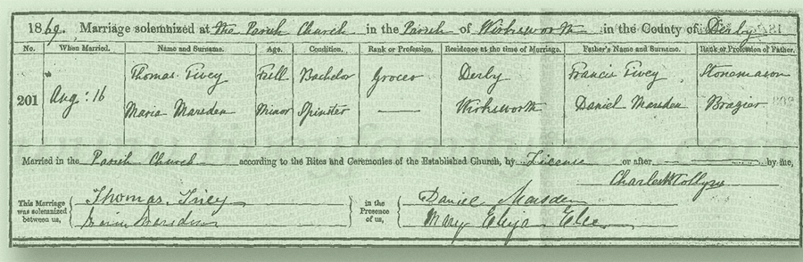 Thomas-Tivey-and-Maria-Marsden-Marriage-Certificate